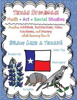 Texas Symbols Math and Drawing