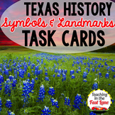 Texas Symbols Task Cards