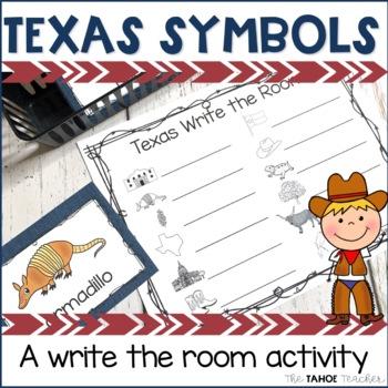 Texas Symbols Write the Room