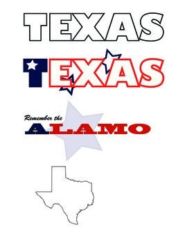 Texas Themed Clip Art