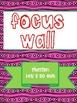 Texas Treasures Grade 1 Focus Wall Unit 6 Weeks 1-5