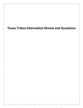 Texas Tribes Unit
