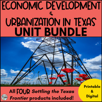 Texas Urbanization ***BUNDLE***