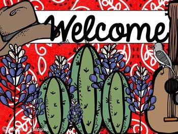 Texas Welcome Freebies!