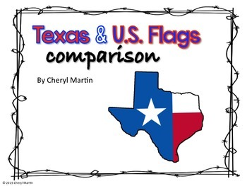 Texas and U.S. Flags Comparison
