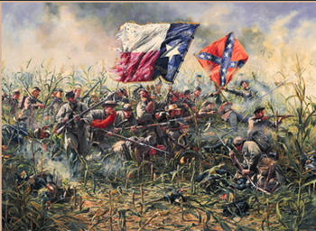 Texas and the Civil War Powerpoint with Guided Notes