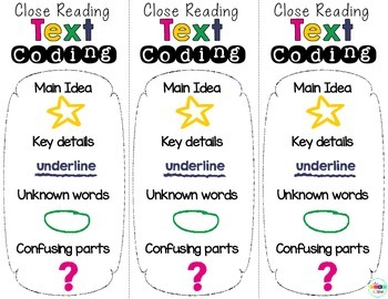 Free - Text Coding Annotation Bookmarks