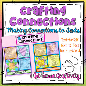 Text Connections Craftivity