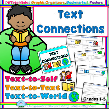 Text Connections Sheets Differentiated Comprehension Strategies