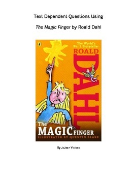 Text Dependent Questions Using The Magic Finger