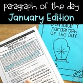 Close Reading Paragraph of the Day-January