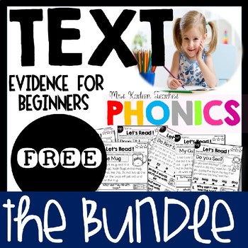 Text Evidence for Beginners FREE SAMPLE