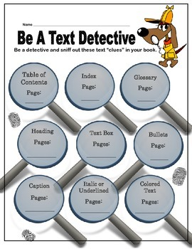 Text Feature Detective
