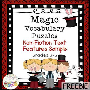Text Feature Magic Square