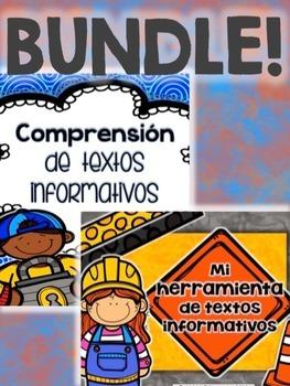 Text Features BUNDLE - Comprensión de textos informativos