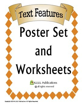 Text Features Poster Sample Set