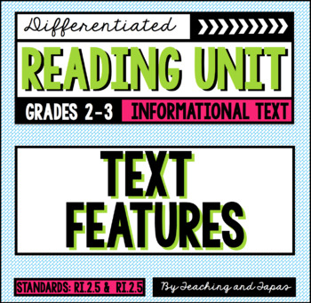 Text Features (RI.2.5 and RI.3.5)
