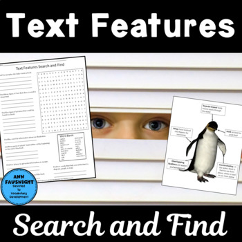 Text Features Search and Find