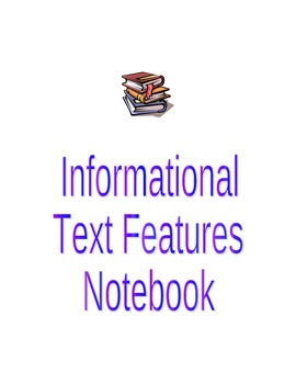 Text Features Student Notebook