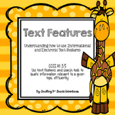 Text Features and Search Tools RI 3.5