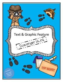 Text & Graphic Feature Scavener Hunt Bundle
