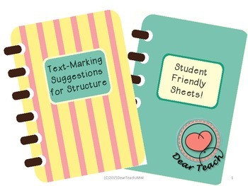 Text-Marking for Structure