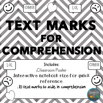 Text Marks for Comprehension