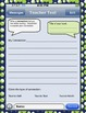 Text Me! Nonfiction Reading Response Sheets