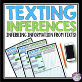 INFERENCE ACTIVITIES: Text Message Inferences