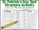 Text Organization and Structure:  A St. Patrick's Day Acti