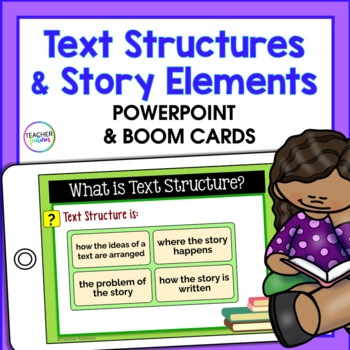 Story Elements & Text Structures Powerpoint