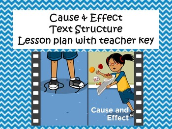 Text Structure- CCR5- Cause & Effect Classwork Packet & Te