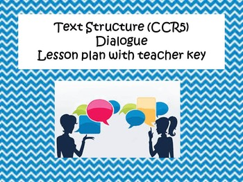 Text Structure-Dialogue