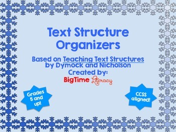 Text Structure Organizers