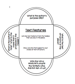 Interactive Notebook-Text Features/Structure-Flower