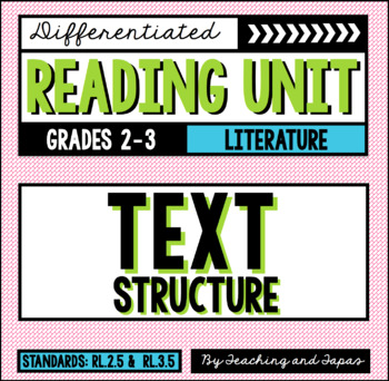 Text Structure (RL.2.5 and RL.3.5)