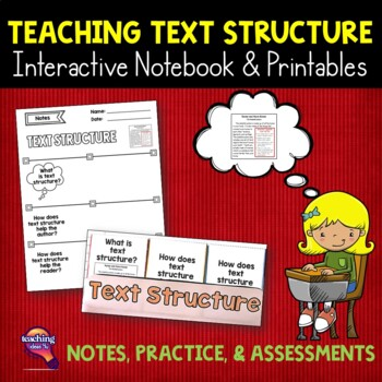 Text Structure Reading Strategy Unit: Notes, Practice, & A