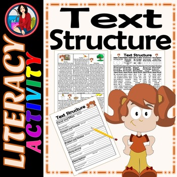 Text Structure Summarize Paraphrase Cite the Evidence Acti