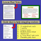Text Structure Task Cards for the Middle and High School S