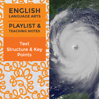 Text Structure and Key Points