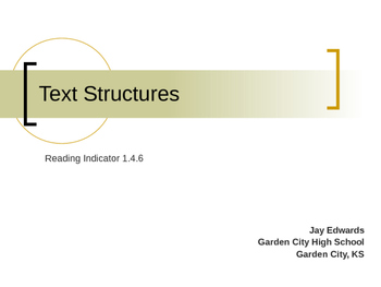 Text Structures & Integration Across the Curriculum (Commo