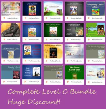 BUNDLE Text Talk Level C, 20 Lessons PowerPoint Collaborat