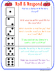 Text Talk- Roll and Respond Game