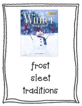 Text Talk Winter Wonderland Poster