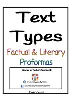 Text Types Book