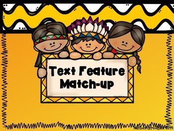 Text-feature Match up