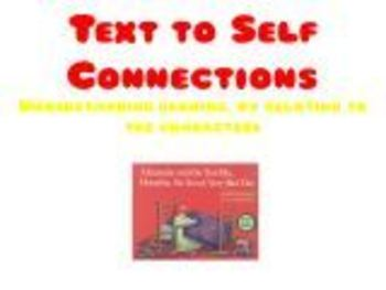 Text to Self Connections - Relating to the character (Aust