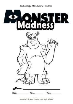 Textiles Booklet - Monster Softie