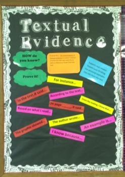 Textual Evidence Bulletin Board