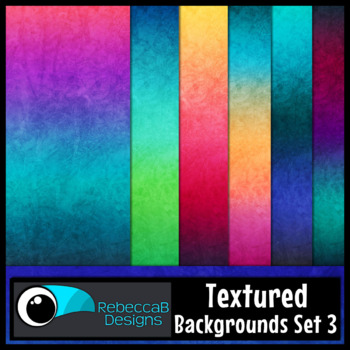 Textured Digital Papers Set 3